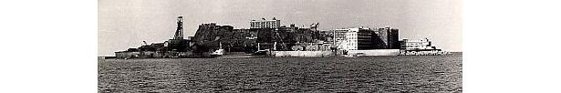 にぎわっていた頃の軍艦島
