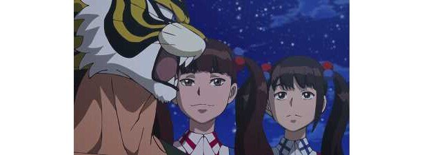 「タイガーマスクW」第6話場面カットが到着。リアルアイドル・生ハムと焼きうどんが参戦