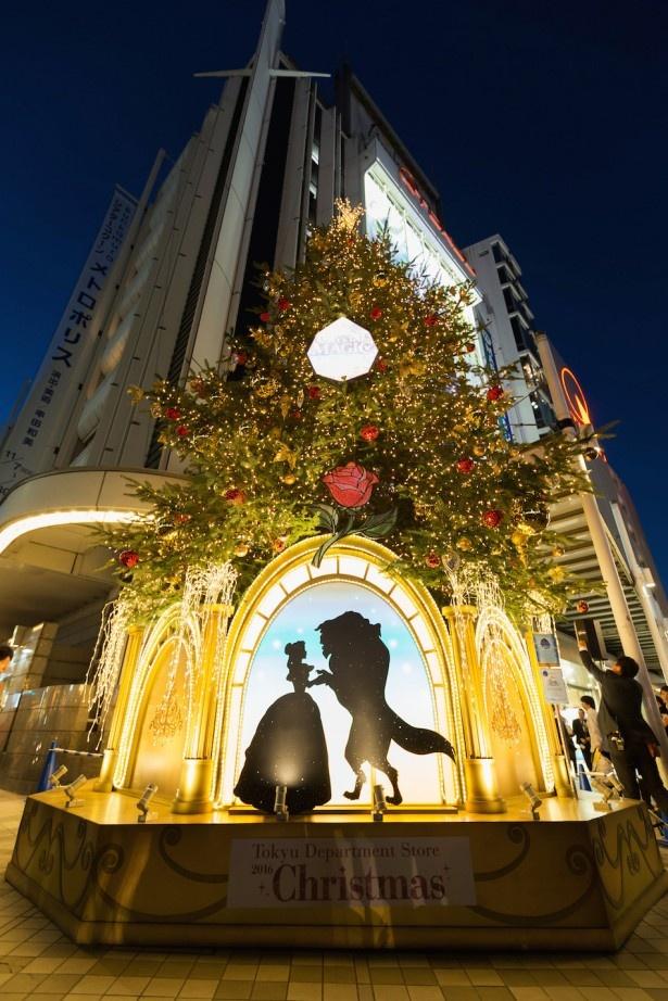 12月25日(日)まで、東急グループとウォルト・ディズニー・ジャパン株式会社がコラボしたクリスマスイベント「TOKYU CHRISTMAS WONDERLAND 2016 ‐Disney CRYSTAL MAGIC‐」が東急沿線でスタート