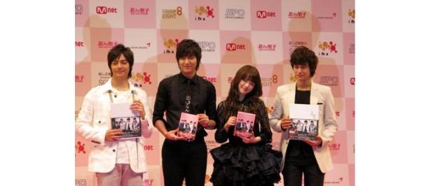 韓国版「花男」のメンバーのアップ画像など