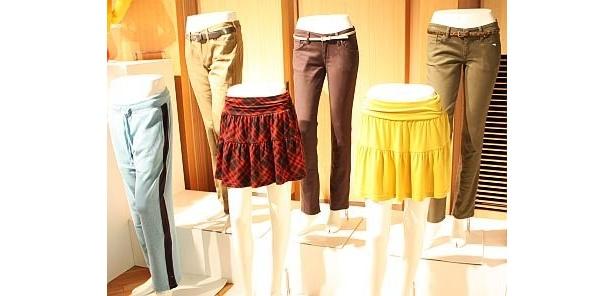 ボトムスのラインナップが充実。ティアードスカートなども登場