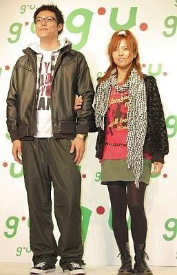南さんが提案するカップルコーディネート。トータルで男性¥4460、女性が¥7050