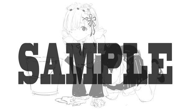 「Re:ゼロから始める異世界生活」イラストファンブック事前受注実施中! ぽんかん(8)が描くレムも解禁