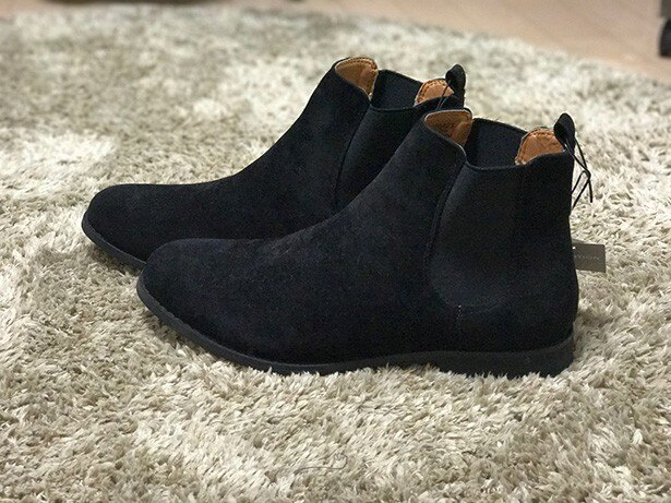 GUの低価格&中品質ブーツがいい感じ!
