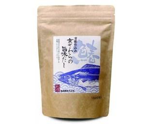 日本初のサワラの煮干しを使っただしパック「京都仕込み 京さわらの旨味だし」
