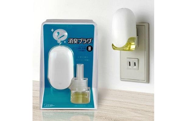 「消臭プラグ」(661円)も、佐藤ナオキ氏のデザイン