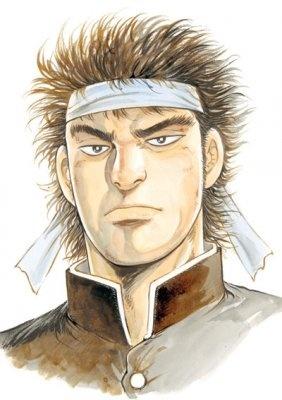 メインキャラクターの矢島瓶治(やじまびんじ)。