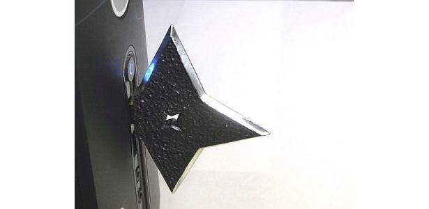 PCに刺さった!? 「Ninja USBメモリー」(9800円)
