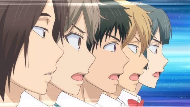 """「私がモテてどうすんだ」第6話先行カットが到着。花依VS二科""""逆カプ戦争""""勃発!?"""