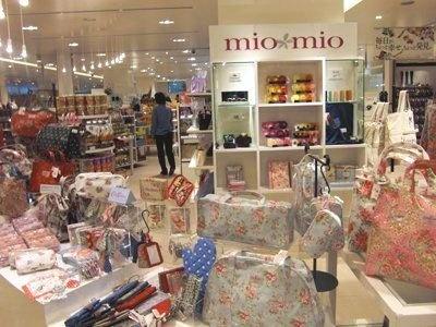 「mio mio」にはテンション上がる多彩なアイテムがそろう