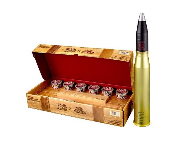 「ガールズ&パンツァー」が日清とコラボ!砲弾を再現したストッカーセットも限定販売