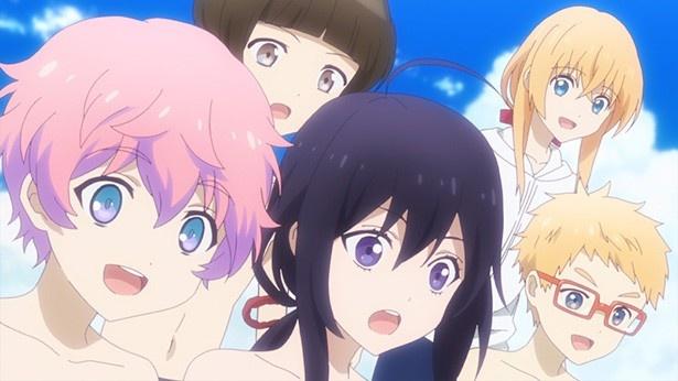「刀剣乱舞 -花丸-」第7話カット&あらすじが到着。刀剣男子たち、海水浴へ!