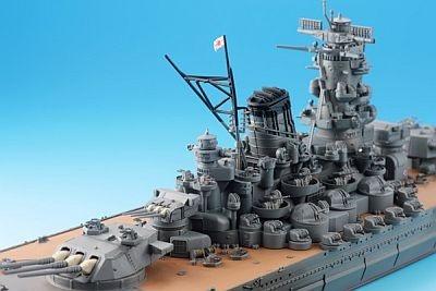 主砲塔など細かいディテール画像7点