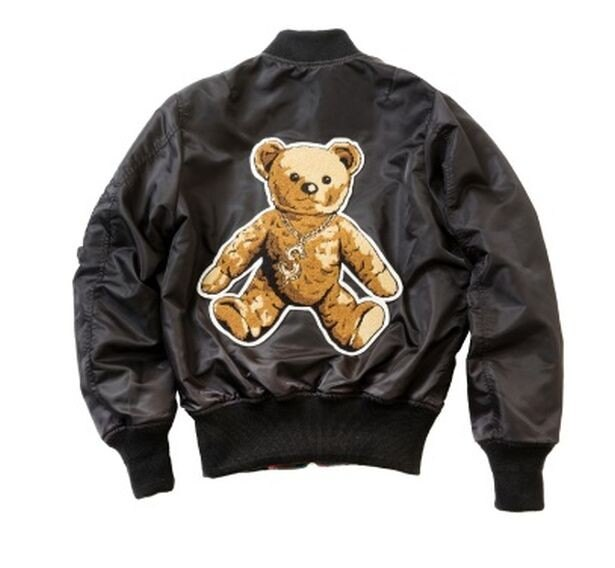 「JOYRICH」のお洒落なジャケット「Rock Teddy Reversible MA-1 JKT」(4万3200円)