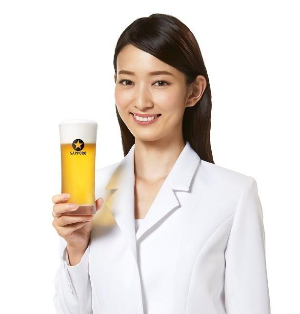 「2017年サッポロビールイメージガール」の川辺優紀子さん