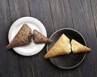 「白」も新登場!マクドナルドから三角チョコパイ2種