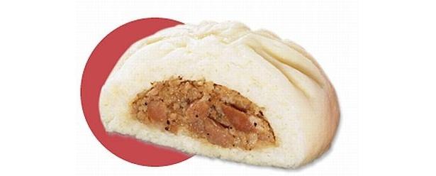 豚肉の旨みと玉ねぎの甘みが絶妙な「極の豚まん」も20円引き