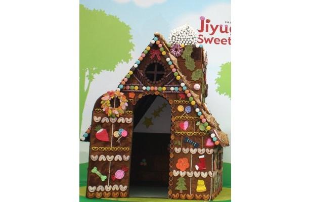 「自由が丘スイーツフォレスト」で5月に実施した「お菓子の家」など、フードテーマパークには定評のあるナムコ
