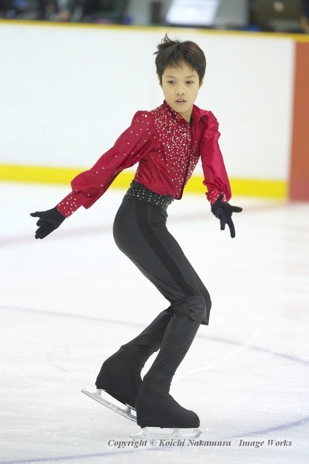 スタイルがとても良く、氷上で映える選手だ
