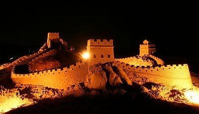 第2期展示「世界遺産・アジア編」で公開された万里の長城