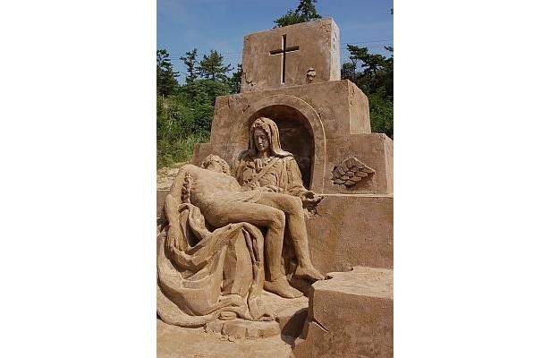 第1期展示「イタリア・ルネサンス」のマリア像