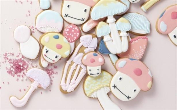 【写真を見る】11月19日(土)、23日(水)は、THUMB AND CAKES制作の可愛いオリジナルアイシングクッキーのプレゼントも!(各日100個限定)