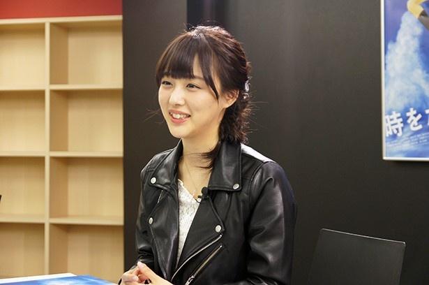 『時をかける少女』への思いを熱く語ってくれた鎌田菜月さん