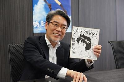 10周年を記念した細田守監督直筆の貴重なサイン色紙も特典に