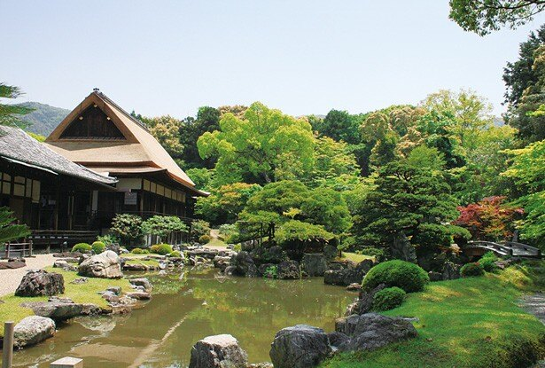 秀吉の設計した庭園や国宝の表書院や唐門など、安土桃山時代の華やかな雰囲気をいまに伝える優美な三宝院/醍醐寺