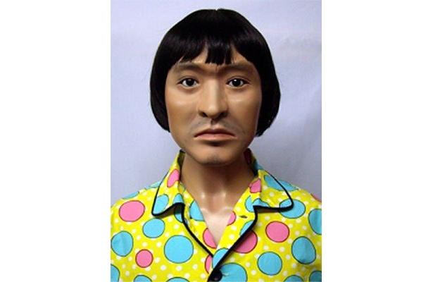 超リアルなパジャマ姿の松ちゃん像。似すぎていてちょっとコワイ!?