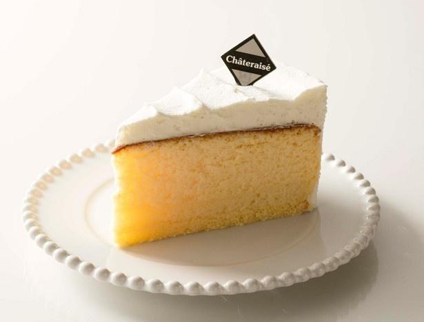 「クリームスフレチーズケーキ」(198円)