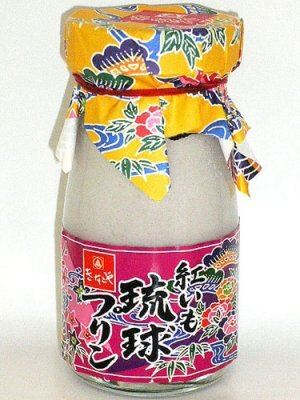 <沖縄>きなこや「紅いも琉球プリン」1個399円・・・卵を使わず、豆乳であっさり味に