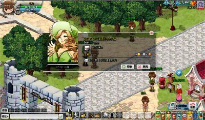 ゲーム内でのアイテムゲット方法は、ゲーム内の城「カルカーノ」に存在する、女性型専用キャラクター「MAD社員」に話しかければOK!