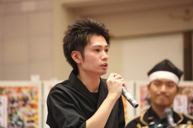 「天ぷら やじま。」店主