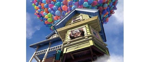 クロージング作品の『カールじいさんの空飛ぶ家』