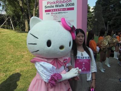 ピンク色のキティも登場