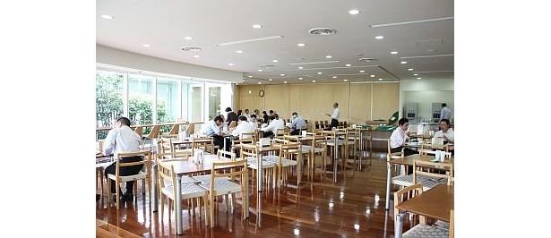 キレイな食堂
