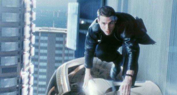 映画「マイノリティ・リポート」は、'02年のスティーヴン・スピルバーグ監督作品。トム・クルーズの逃亡劇が展開する