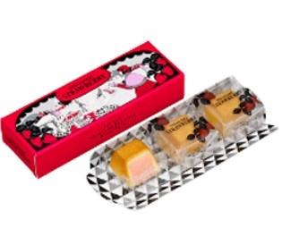 資生堂パーラー恒例の季節のチーズケーキ「冬のチーズケーキ(いちご)」が登場