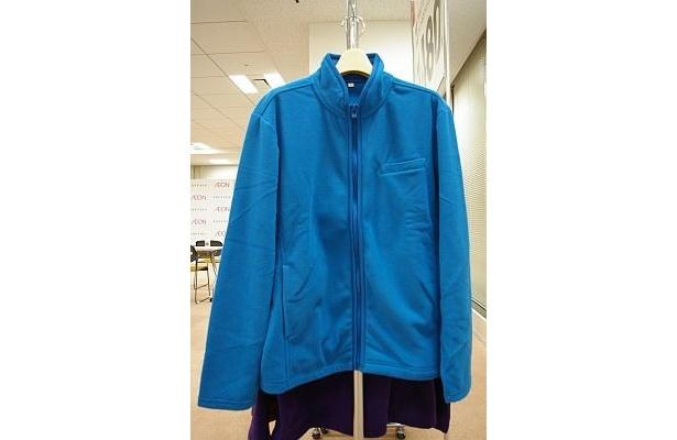 メンズの「フリースBIZ無地フルジップジャケット」は1480円!