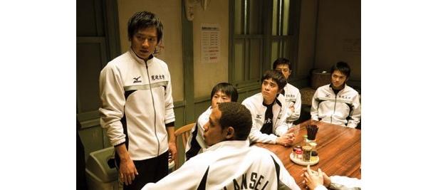 寛政大学陸上競技部のメンバーが、箱根駅伝出場をねらう策を考案中?