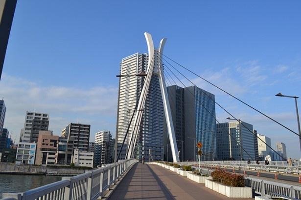 零が自宅から川本家へ向かう時に通っていたのが、隅田川にかかる「中央大橋」