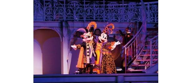 ミステリアス・マスカレードに登場のミッキーとミニー