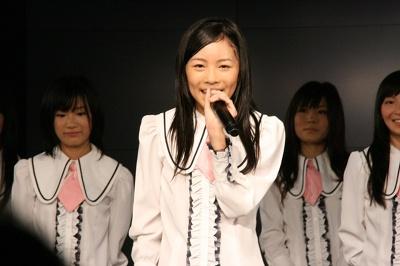 AKB48にも参加した松井珠理奈