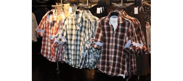 何枚あっても困らない!便利なネルシャツも低価格(3490円/メンズ)