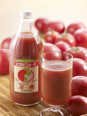 「下川町」とまとジュース ふるさとの元気 ¥630(500ml)。1週目に販売