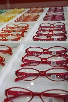 無料配布されたメガネはこんなにオシャレ!