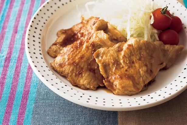 「黄金比」」の調味料を使えば、しょうが焼きも味がラクラクぴたりと決まる!