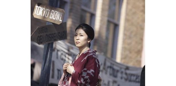 古きよき日本の女性美を体現する松たか子