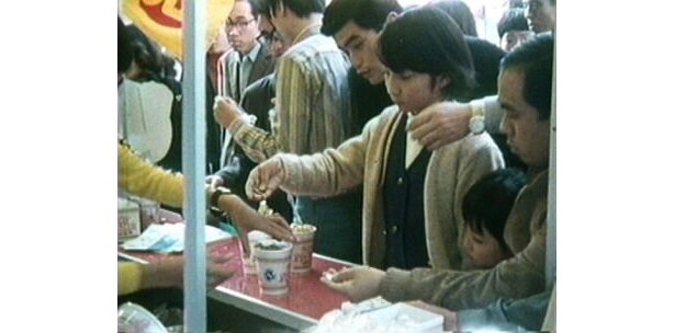 38年前の発売当時は、銀座で無料配布イベントが